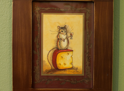Mouse, Wine & Cheese