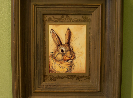 Mr. Rabbit's Portrait